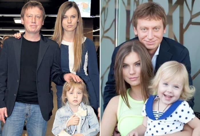 Михаил Трухин с женой Анной и дочерью Софией | Фото: veasy.ru, 2aktera.ru