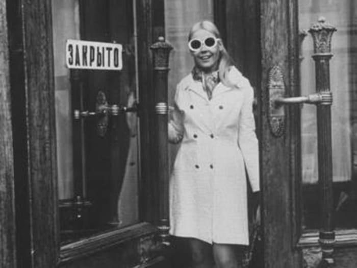 Одна из первых советских манекенщиц, продолживших карьеру в эмиграции | Фото: biggest.su