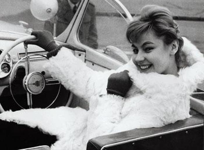 Одна из первых советских манекенщиц, продолживших карьеру в эмиграции | Фото: fb.ru
