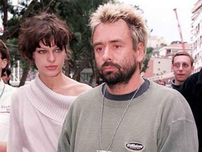 Милла Йовович и Люк Бессон   Фото: vokrug.tv