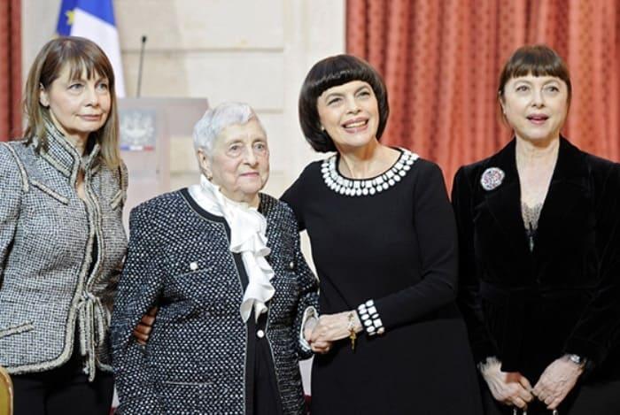 Мирей Матье с семьей   Фото: book-face.ru