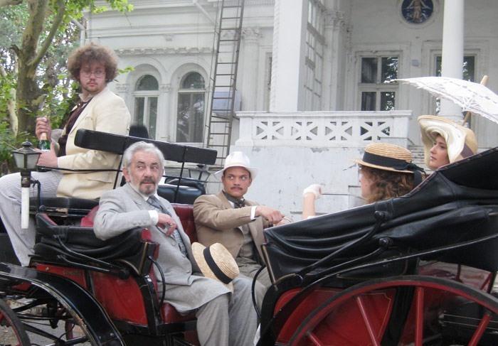 Кадр из сериала *Жизнь и приключения Мишки Япончика*, 2011 | Фото: kino-teatr.net
