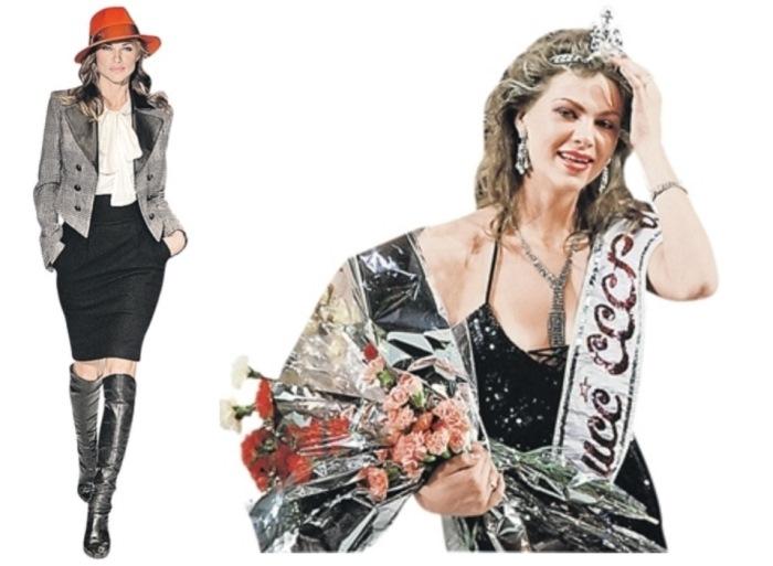 Мисс СССР-1989 Юлия Суханова работала фотомоделью в США | Фото: kp.ru