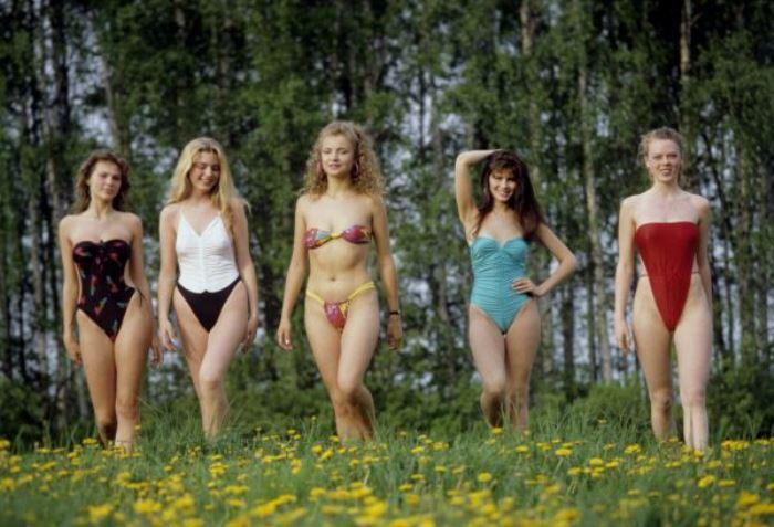 *Демонстрация пляжных ансамблей* | Фото: history.mirtesen.ru