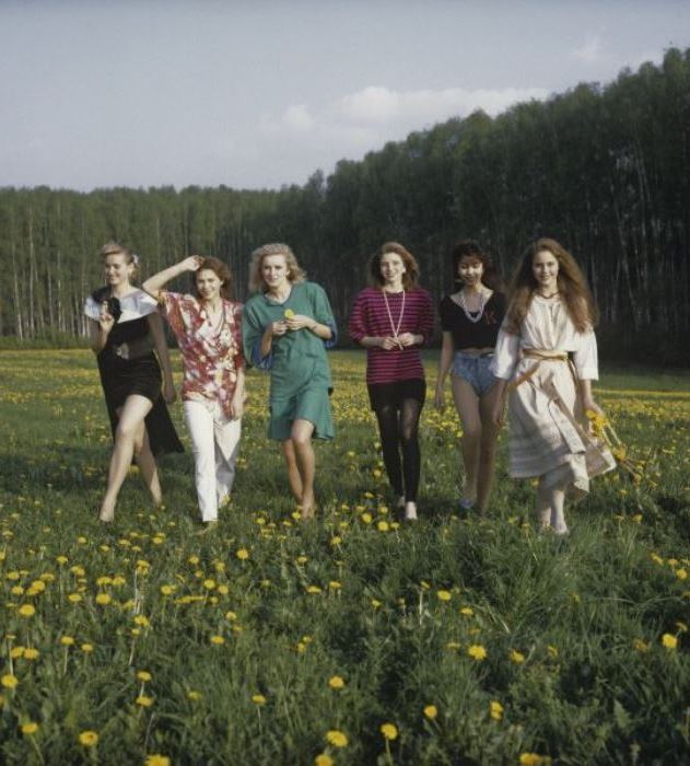 Участницы конкурса | Фото: history.mirtesen.ru