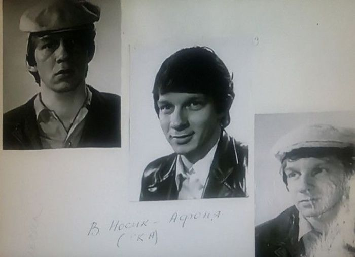 Фотопробы Владимира Носика на роль Афони   Фото: prikolno.cc