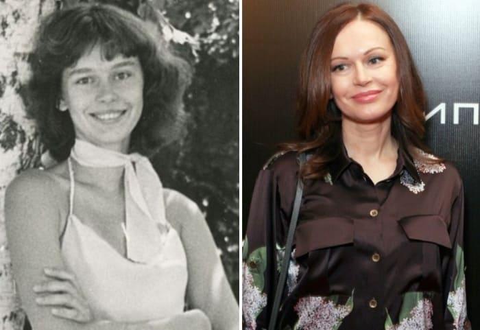 Ирина Безрукова в юности и в наши дни | Фото: uznayvse.ru, goodhouse.ru