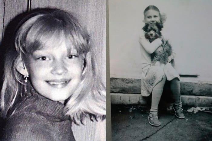 Светлана Ходченкова в детстве | Фото: biographe.ru