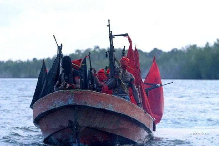 Пираты всегда появляются и нападают неожиданно