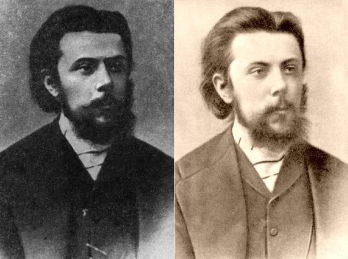 Модест Петрович Мусоргский, 1865 | Фото: file2.answcdn.com и muslib.ru
