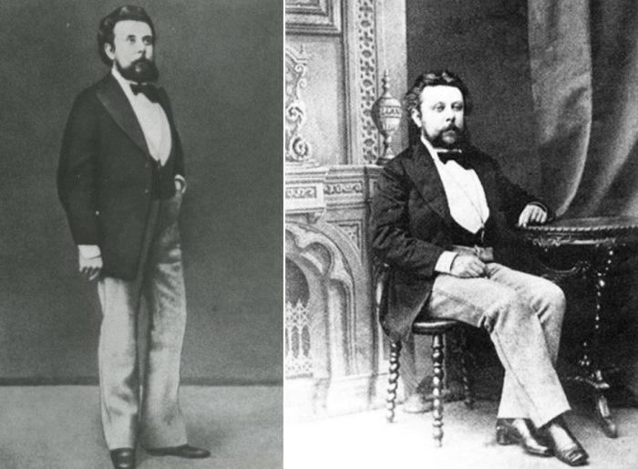 М. П. Мусоргский, 1873 | Фото: mussorgsky.ru и demisebbb.ru