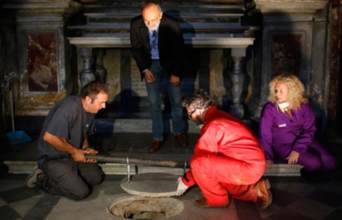 Итальянские ученые ведут раскопки в монастыре святой Урсулы
