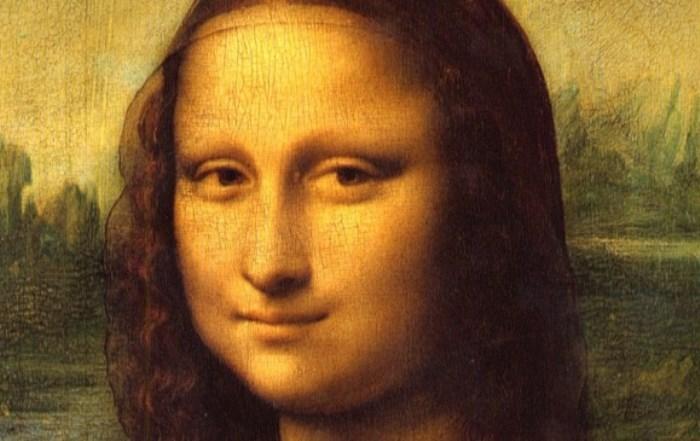 Леонардо да Винчи. Мона Лиза. Фрагмент