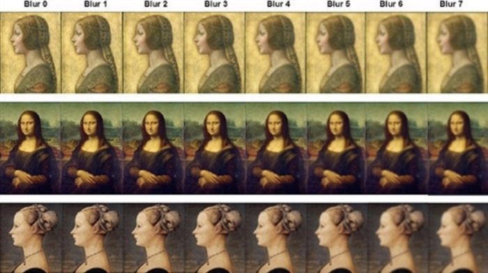 Картины да Винчи и Поллайоло, задействованные в эксперименте