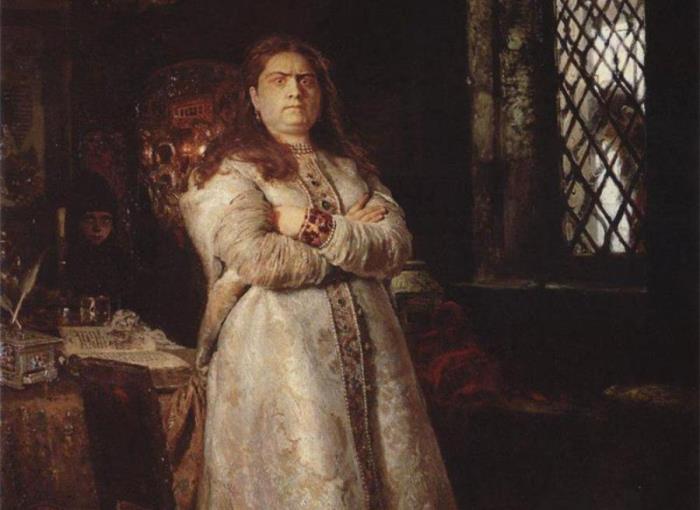 И. Репин. Царевна Софья в Новодевичьем монастыре, 1879. Фрагмент | Фото: cont.ws
