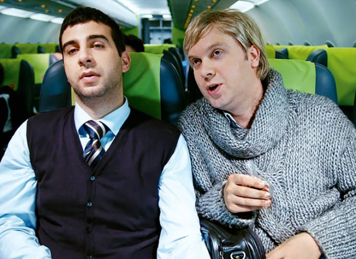 Иван Ургант и Сергей Светлаков | Фото: ru.hellomagazine.com