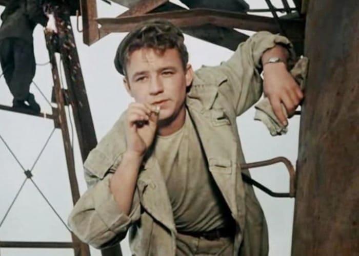 Николай Рыбников в фильме *Высота*, 1957 | Фото: vokrug.tv
