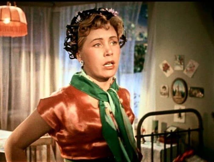 Инна Макарова в фильме *Высота*, 1957   Фото: kino-teatr.ru