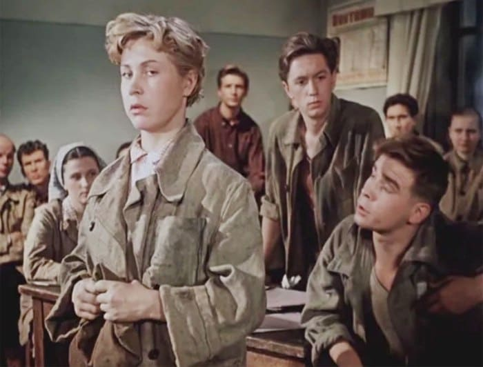 Инна Макарова в фильме *Высота*, 1957   Фото: vagant.livejournal.com