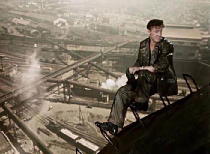 Актеры выполняли сложные трюки на большой высоте | Фото: vagant.livejournal.com