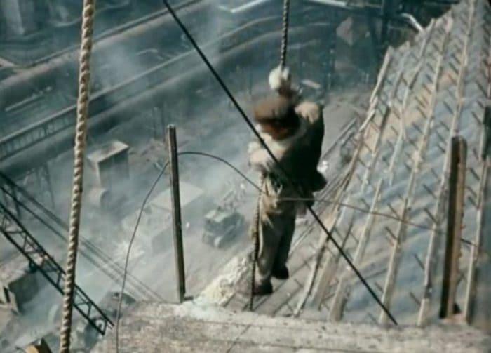 Актеры выполняли сложные трюки на большой высоте | Фото: domkino.tv