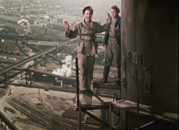 Актеры выполняли сложные трюки на большой высоте   Фото: domkino.tv