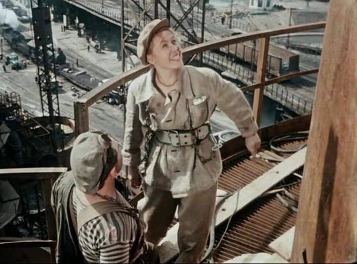 Инна Макарова в фильме *Высота*, 1957   Фото: teatral-online.ru