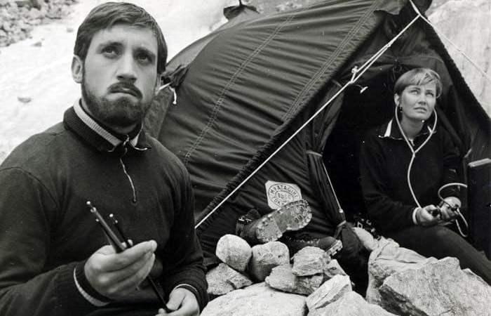 Кадр из фильма *Вертикаль*, 1966 | Фото: echo.msk.ru
