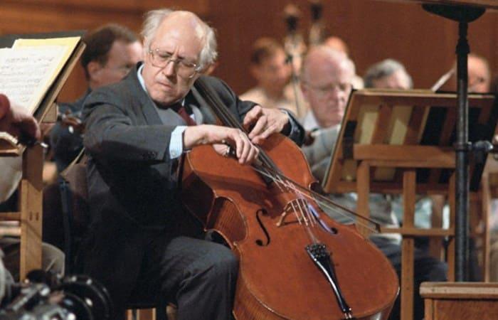 Выдающийся виолончелист, пианист и дирижер Мстислав Ростропович | Фото: rewizor.ru