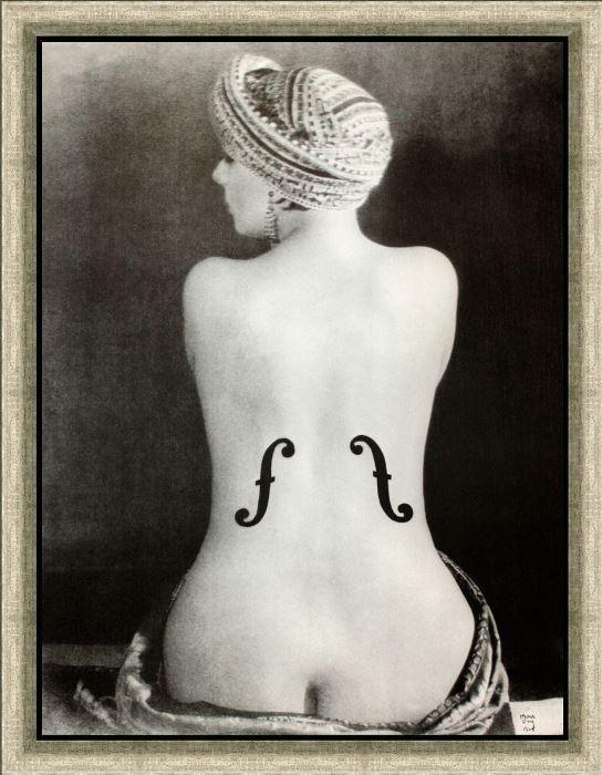 Ман Рэй. *Скрипка Энгра*, 1924