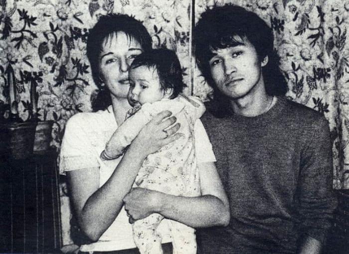 Музыкант с женой и сыном Сашей | Фото: wday.ru