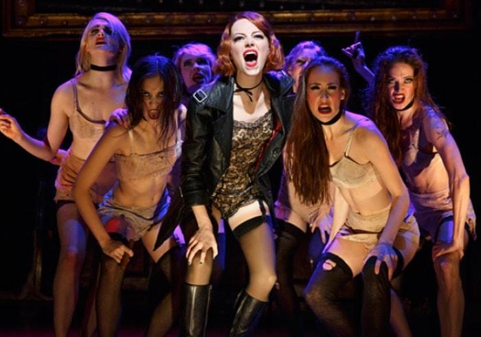 Одна из современных постановок мюзикла *Кабаре*, 2015. Фото Д. Маркус | Фото: newyork.com