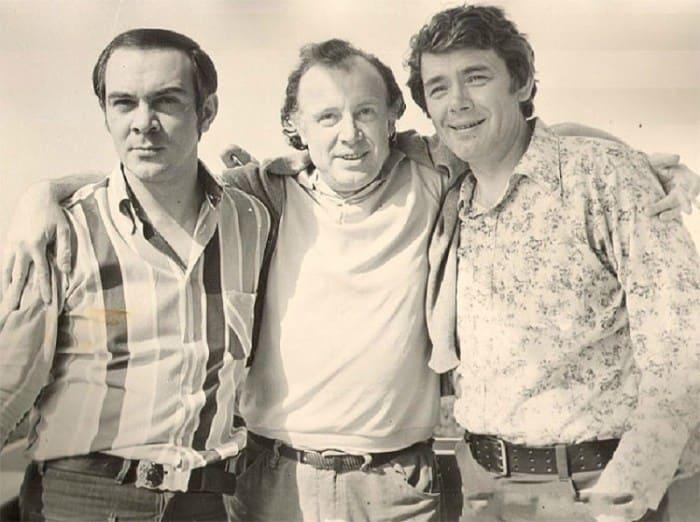 Муслим Магомаев, Иннокентий Смоктуновский и Юрий Гуляев | Фото: kino-teatr.ru
