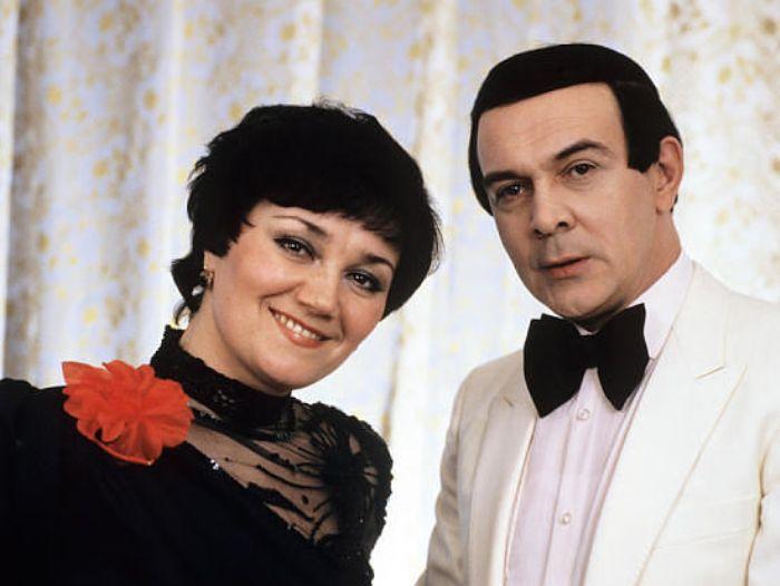 Муслим Магомаев с женой, оперной певицей Тамарой Синявской | Фото: kino-teatr.ru