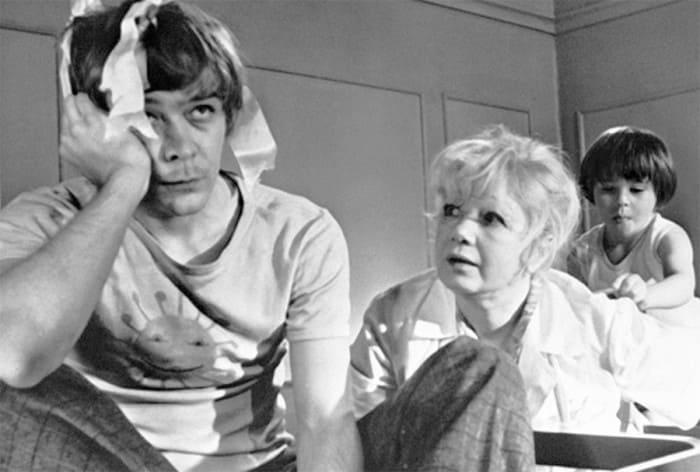 Сергей Проханов на съемках фильма *Усатый нянь*, 1977 | Фото: dubikvit.livejournal.com