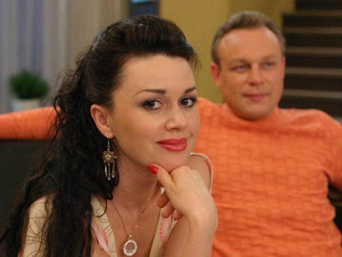 Анастасия Заворотнюк и Сергей Жигунов | Фото: peopletalk.ru