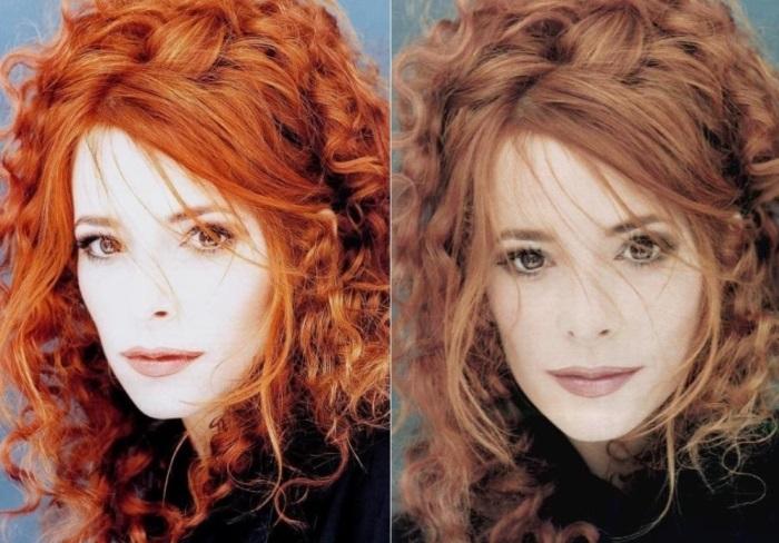 Знаменитая французская певица | Фото: fashiony.ru и sizepic.com