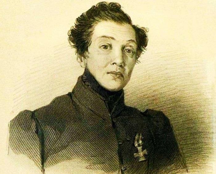 В. Гау. Н. А. Дурова, 1837 | Фото: topwar.ru