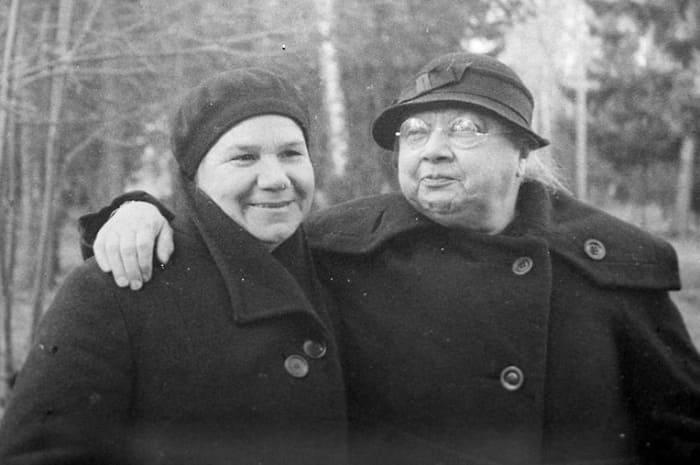 Клавдия Николаева и Надежда Крупская, 1936 | Фото: aif.ru