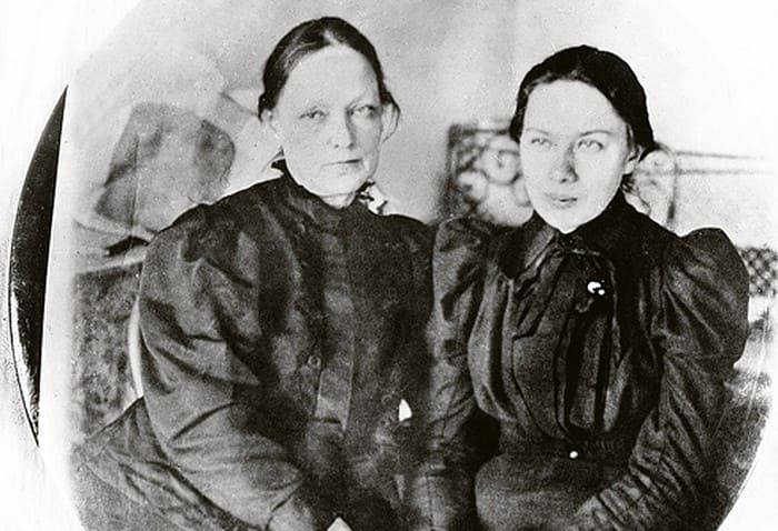 Надежда Крупская с матерью | Фото: kp.ru