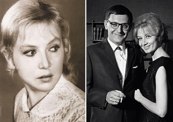 Надежда Репина и Владимир Валуцкий с женой, актрисой Аллой Демидовой | Фото: kino-teatr.ru
