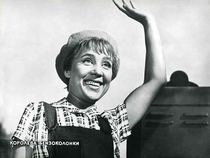 Кадр из фильма *Королева бензоколонки*, 1962   Фото: kino-teatr.ru