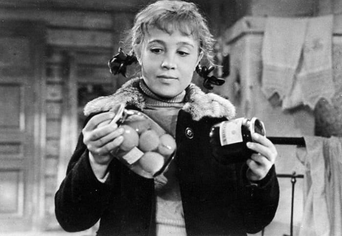 Надежда Румянцева в фильме *Девчата*, 1961   Фото: kino-teatr.ru