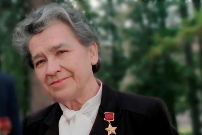 Легендарная разведчица, Герой Советского Союза Надежда Троян   Фото: ruspekh.ru