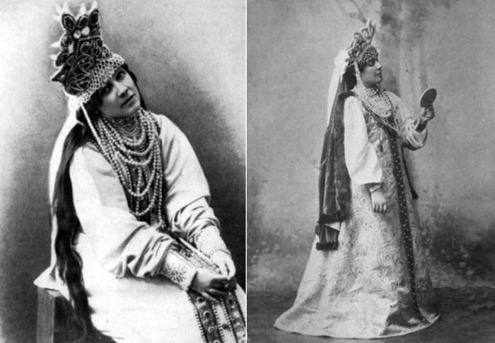 Н. И. Забела-Врубель в спектакле *Царская невеста* | Фото: chtoby-pomnili.com