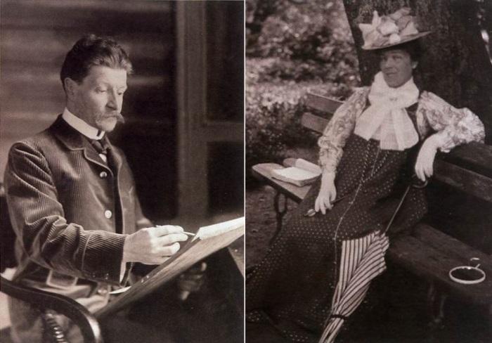 М. Врубель и Н. И. Забела-Врубель, 1900-е гг. | Фото: wroubel.ru