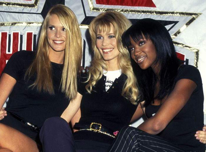 Знаменитые супермодели 1990-х гг. | Фото: fw-daily.com