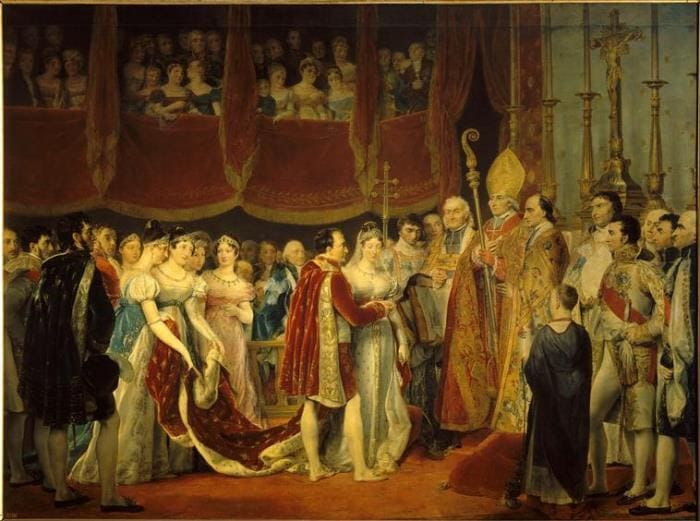 Свадьба Наполеона I с эрцгерцогиней Марией-Луизой, 2 апреля 1810 г. | Фото: liveinternet.ru