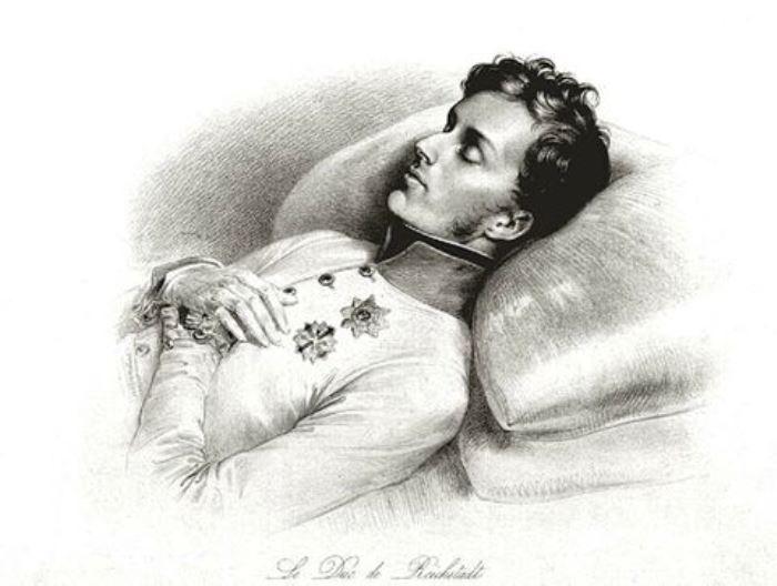 Орленок, Наполеон Франсуа Жозеф на смертном одре | Фото: liveinternet.ru