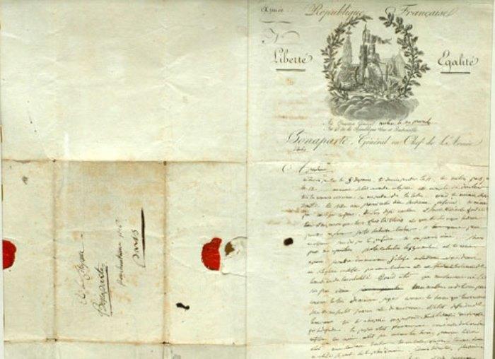 Письмо Наполеона от 8 июня 1796 г.